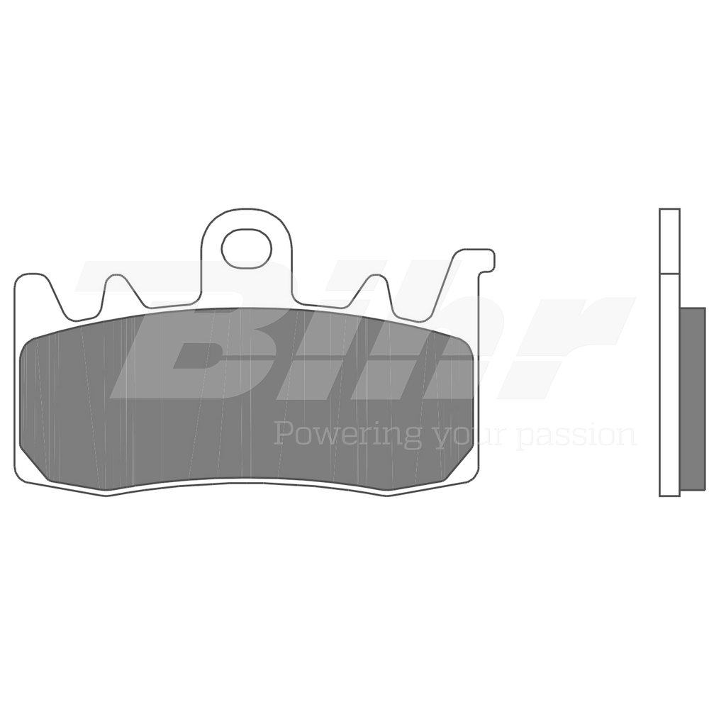 Sintered brake pads 07BB3884