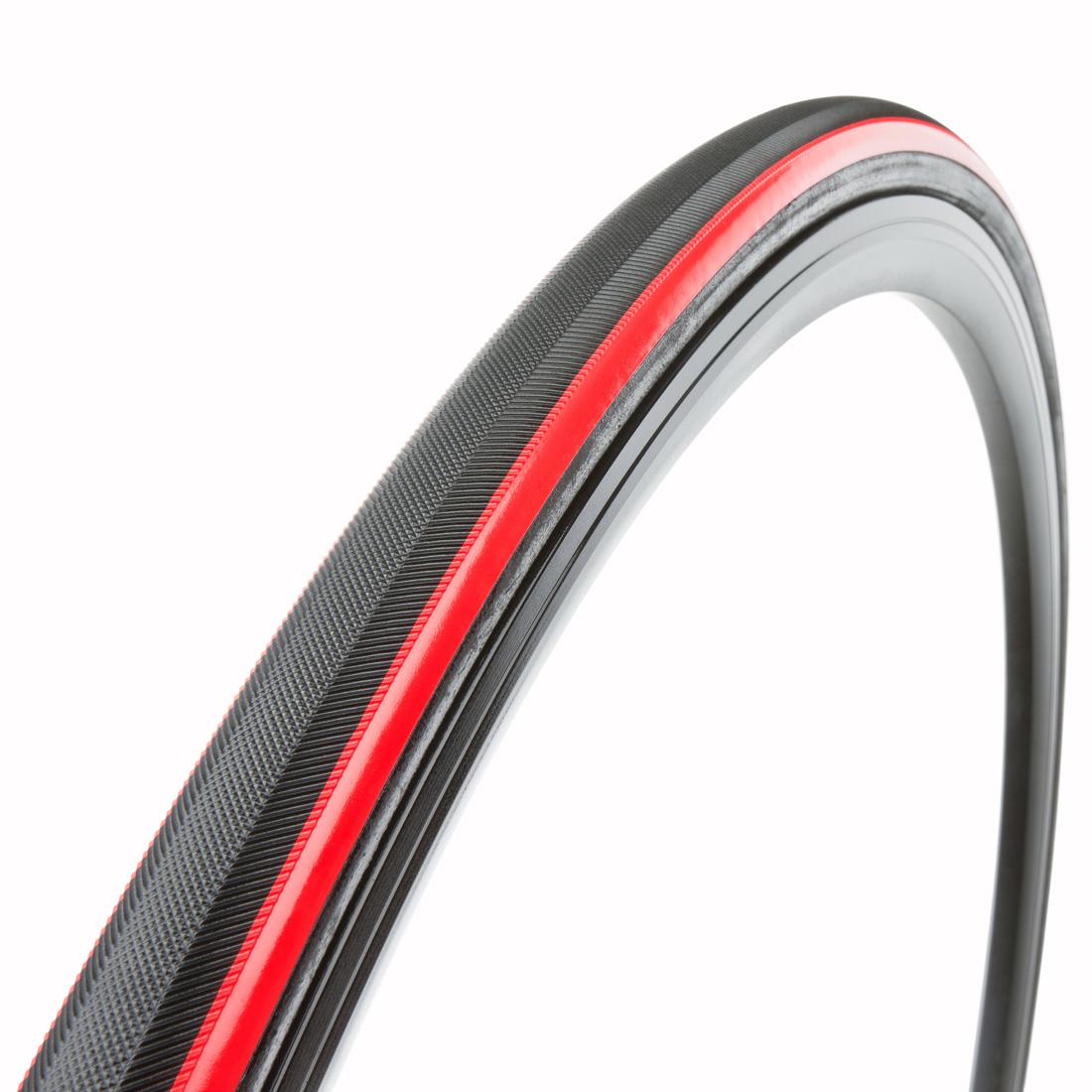 TUBO di gomma, rosso VITTORIA Corsa Corsa Corsa EVO CX 320TPI 6cb