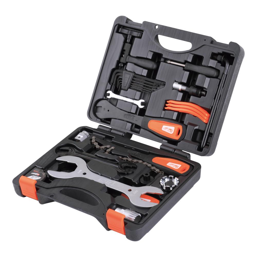 Maletin caja herramientas alta calidad super b 25pc bici bicicleta  TBA600