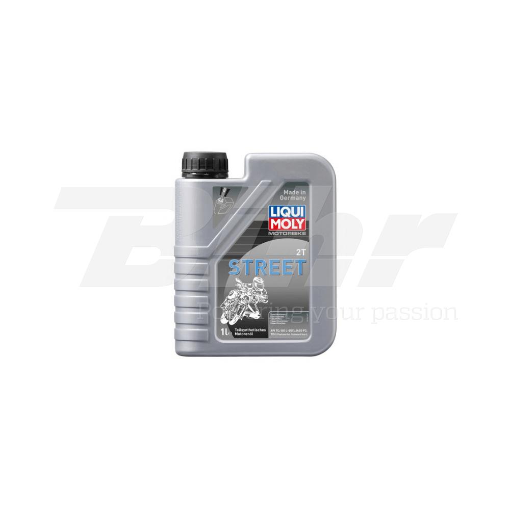 Aceite lubricante motor 1L semi-sintético mezcla 2T 1504