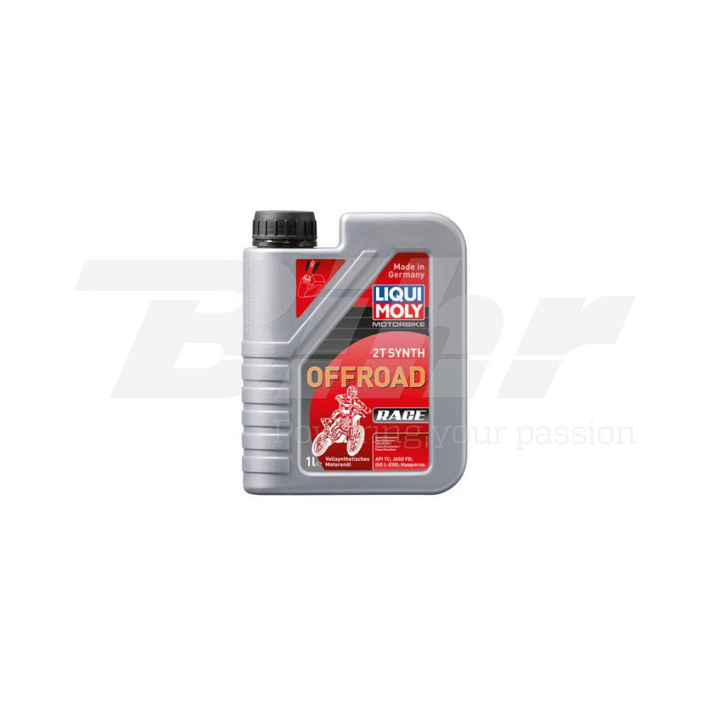 Aceite lubricante motor 1L 100% sintético mezcla 2T Off road 3063