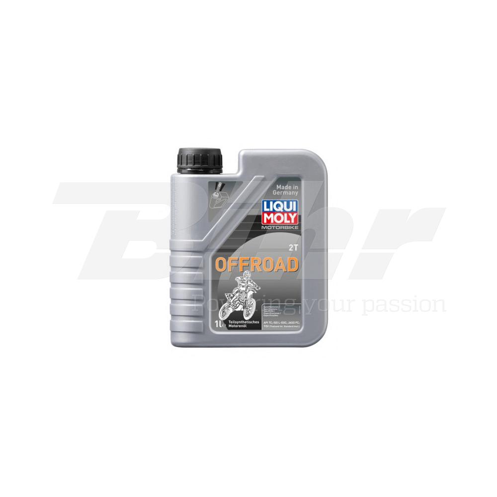 Aceite lubricante motor 1L semi-sintético mezcla 2T Off road 3065