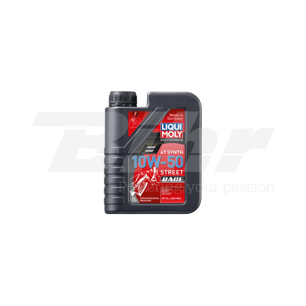 Aceite lubricante motor 1L Motorbike 4T sintético 10W-50 Race 1502