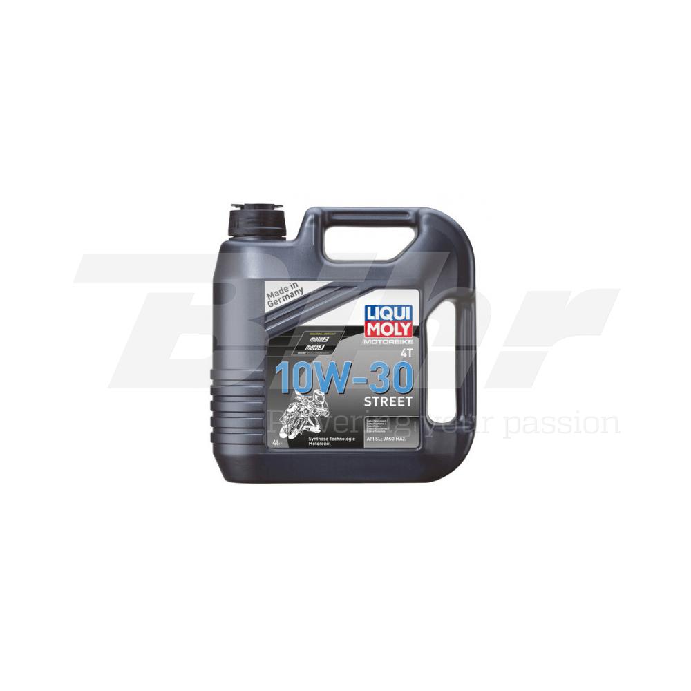 Aceite lubricante motor 4L Motorbike 4T semi-sintético 10W-30 Street 1688