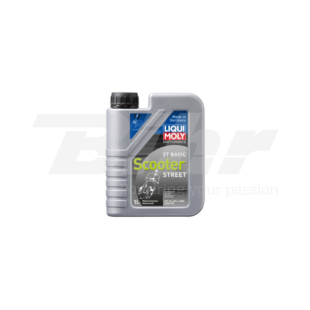 Aceite lubricante motor 1L Motorbike 2T mineral mezcla Basic Scooter 1619