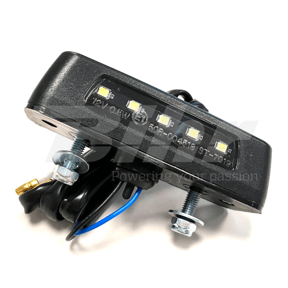 Luz de matricula con leds Universal 12V0.5W 86x29mm