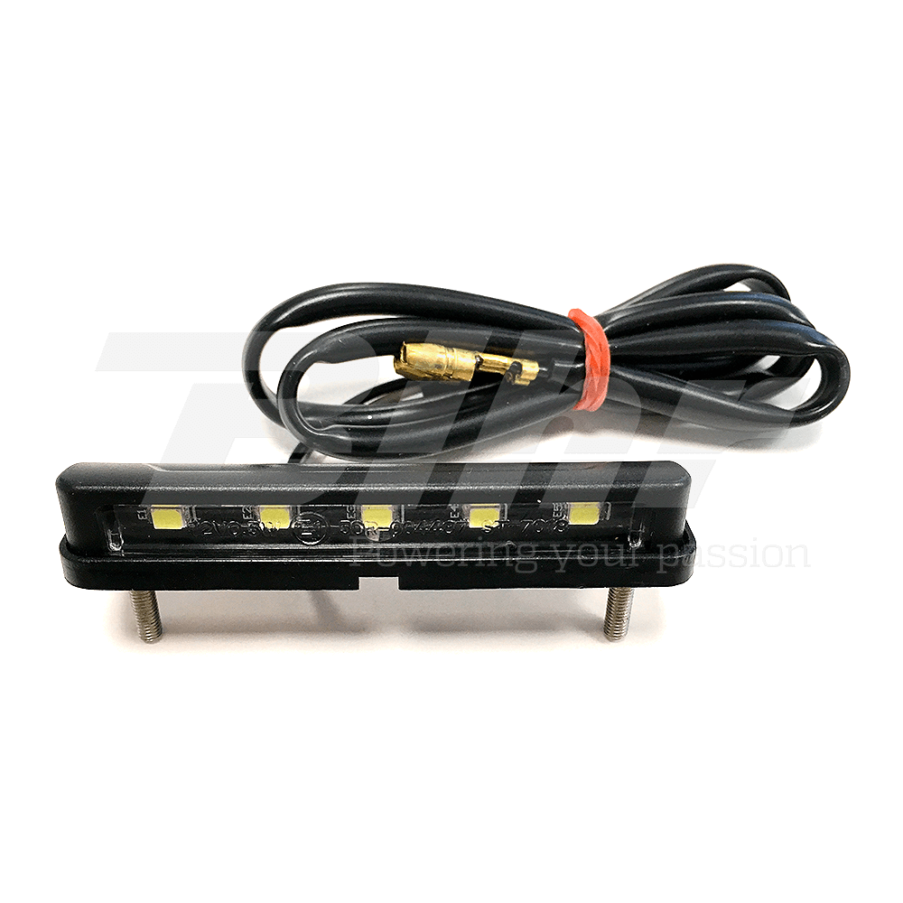 Luz de matricula con leds Universal 12V0.5W 68,5x15mm