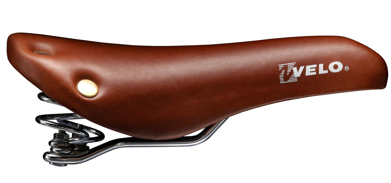 rivets VELO selle singlespeed avec ressort vélo VL6067 peau brune