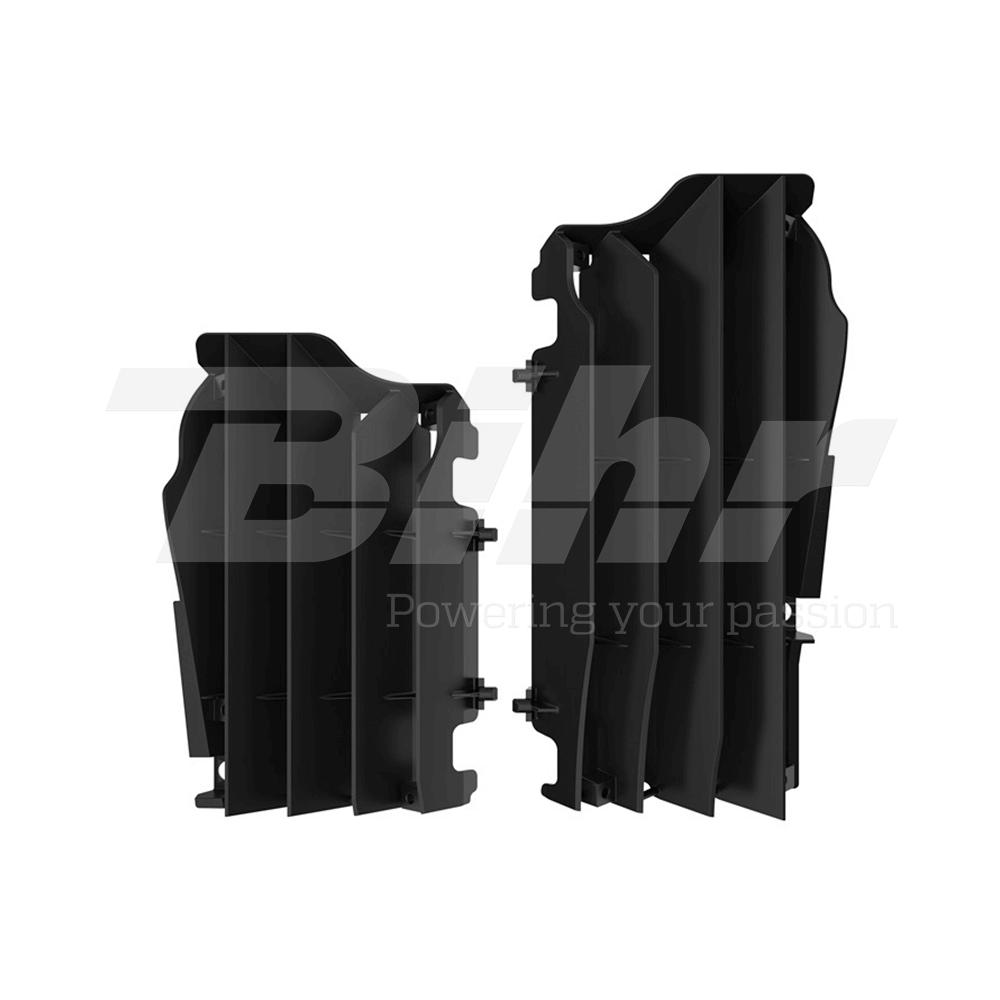 Aletines de radiador negro 8457800001