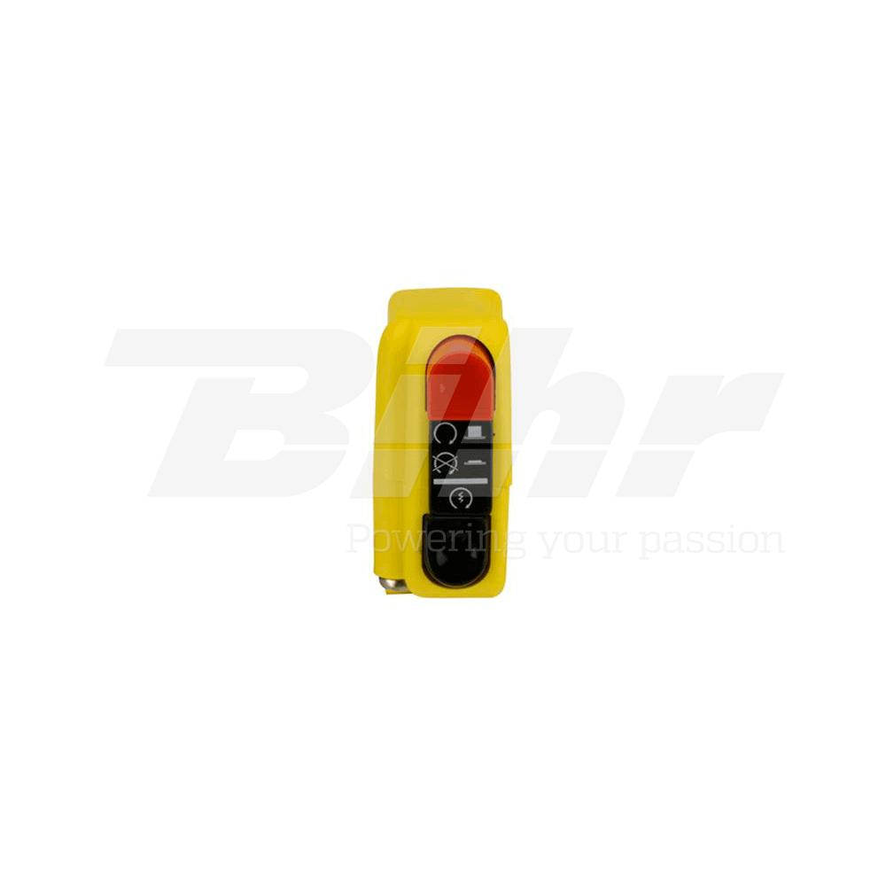 Botón encendido apagado on/off con arranque 9A amarillo 0416AB.9A