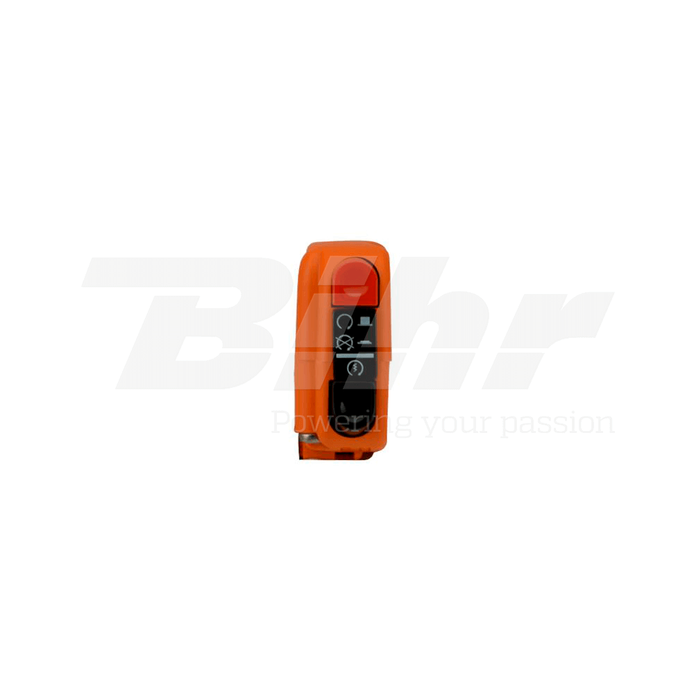 Botón encendido apagado on/off con arranque 9A naranja 0406AB.9A