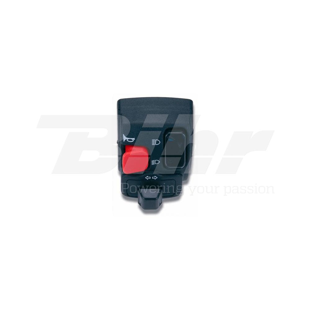 Mando botonera pulsadores eléctrico completo izquierdo Rieju 0089AA.2B