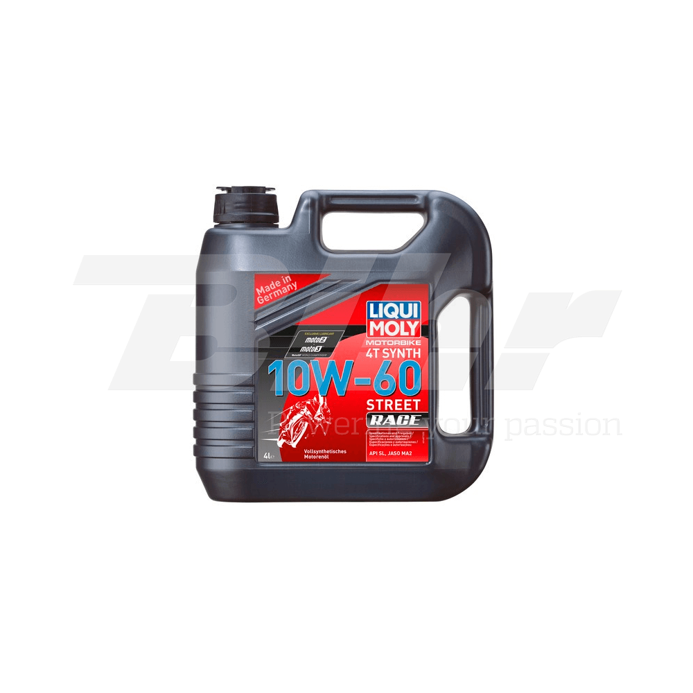 Aceite lubricante motor 4L 100% sintético 4T Synth 10W-60 Race