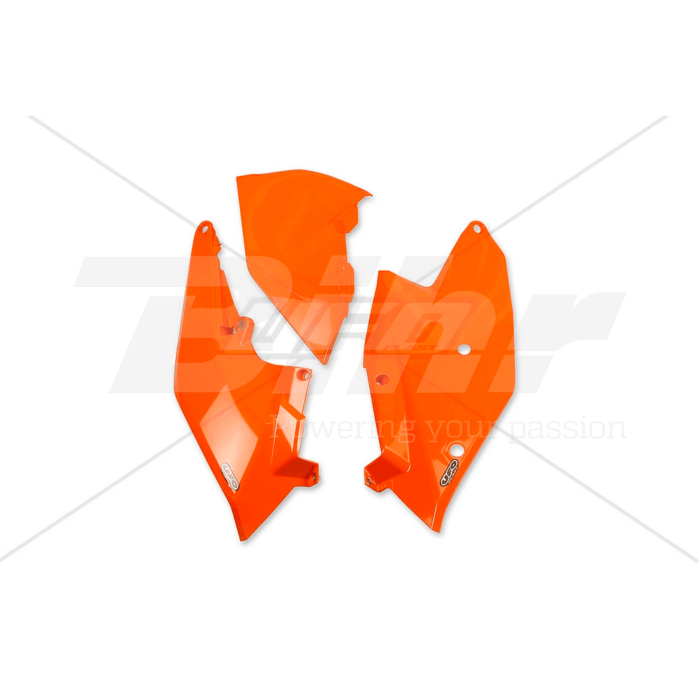 Paneles laterales traseros  naranja KT04062-127