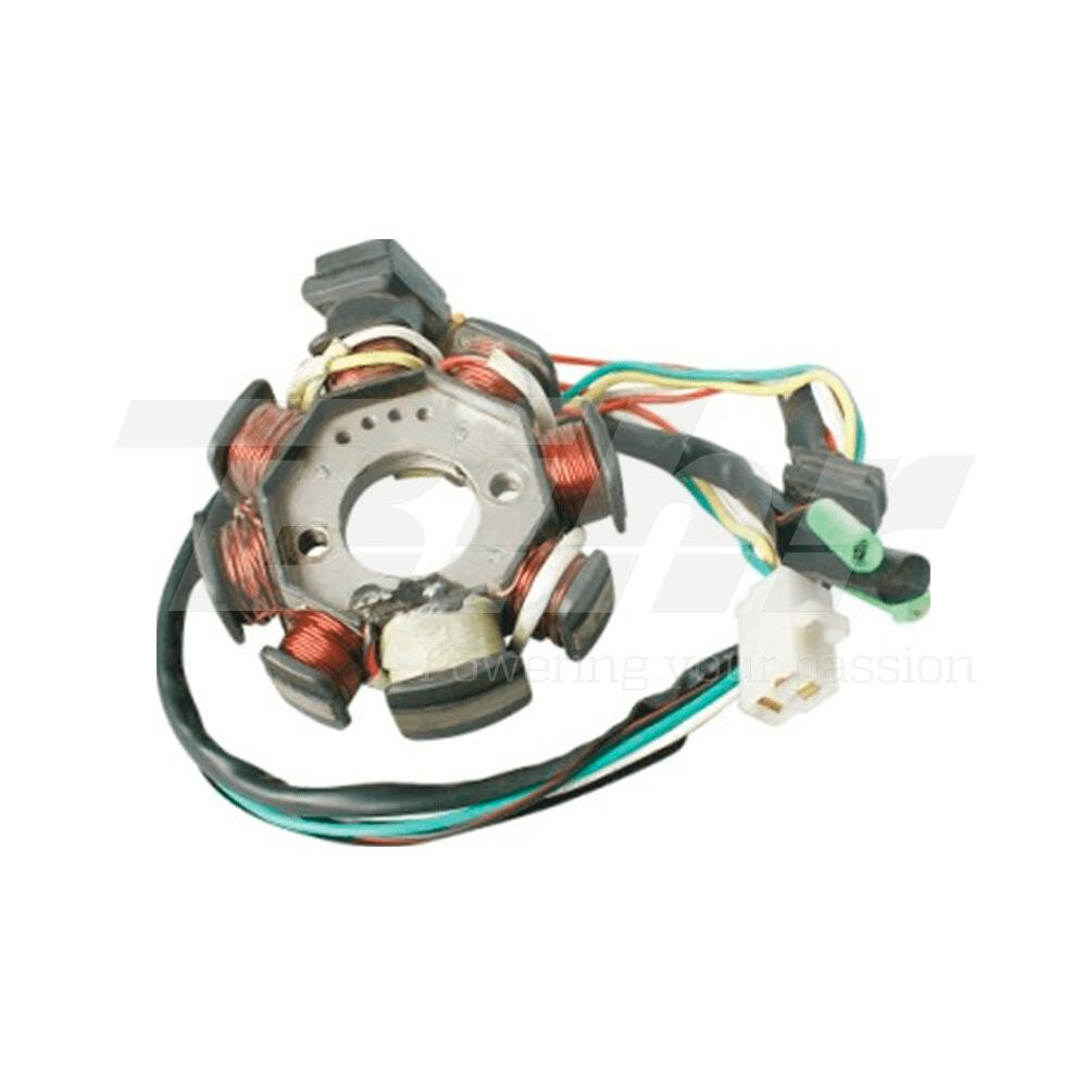 Stator bobina alternador motor GY6 50cc