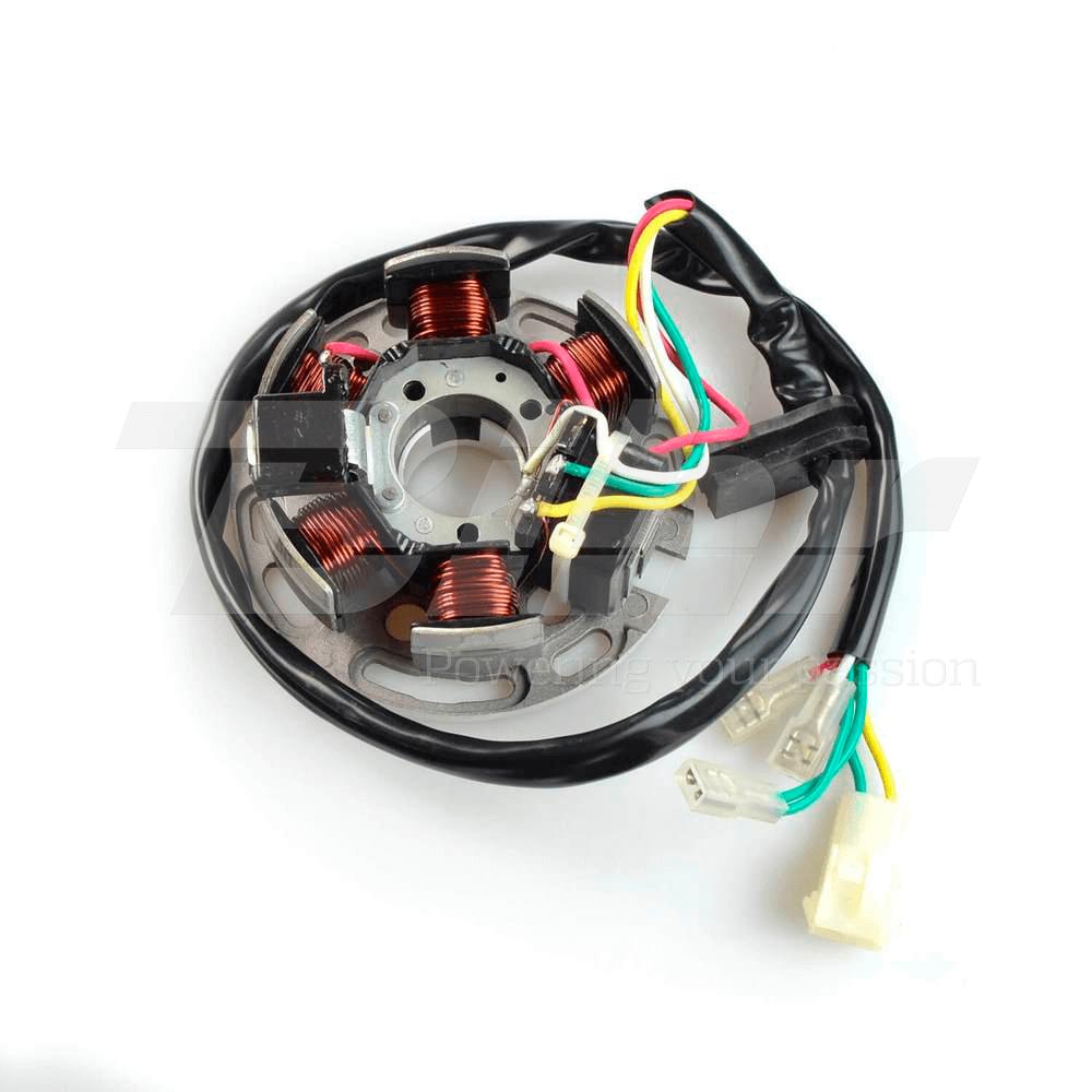 Stator bobina alternador Derbi Minarelli AM6