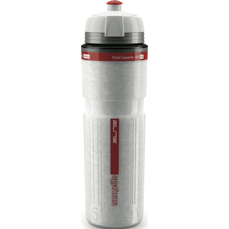 blanco Bidón térmico elite Nanogelite 500 ml la insignia rojo