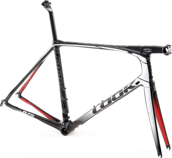 look look 675 light carbon fiber frame