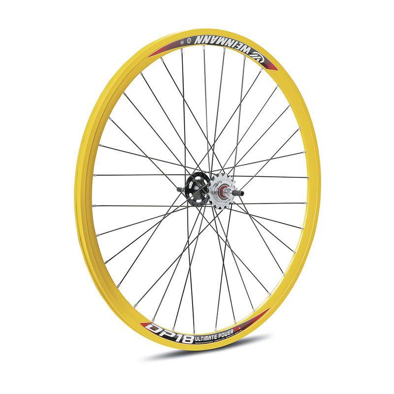 Rear wheel track or fixie Gelb city 16 teeth  dp-18