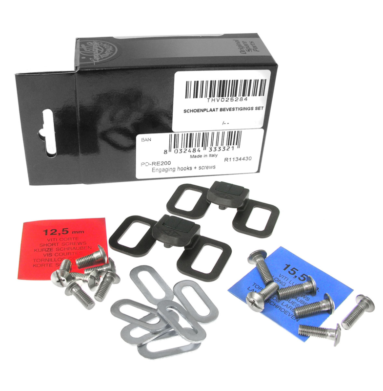Kit tornillos + dientes enganche campagnolo