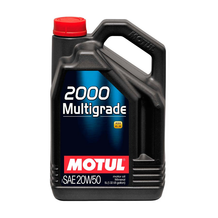 motul moteur huile de graissage 2000 multigrade 20w50 5l ebay. Black Bedroom Furniture Sets. Home Design Ideas