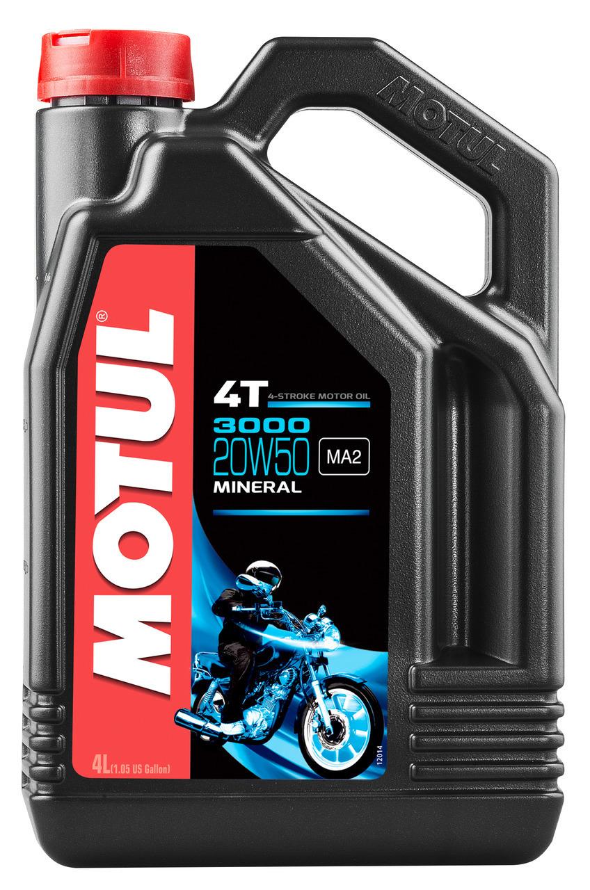 MOTUL Aceite lubricante 4T 3000 20W50 4T 4L