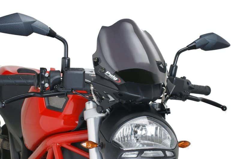 PUIG Windscreen windshield screen DARK SMOKE DUCATI MONSTER 796 (2008-2014)