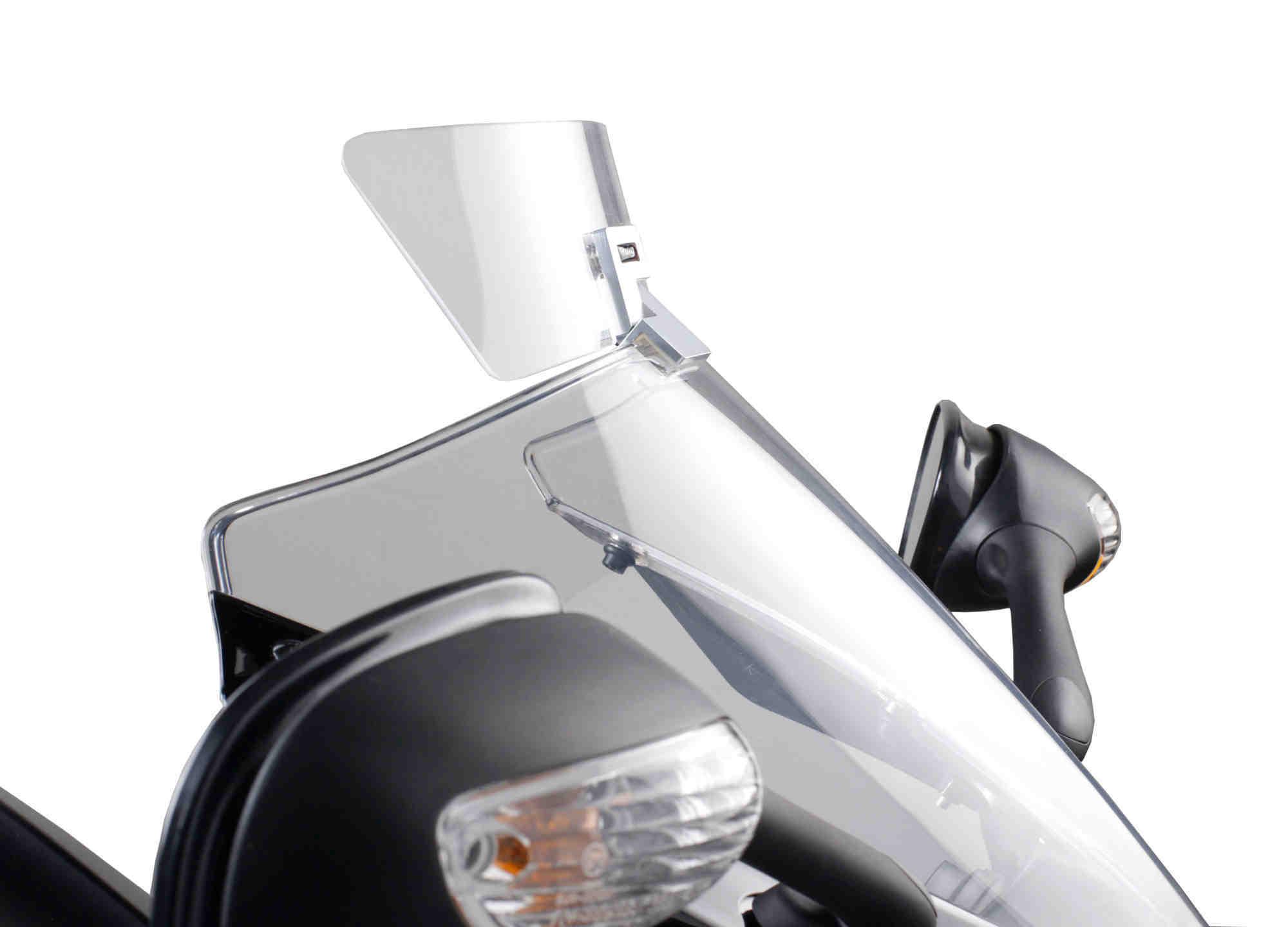 PUIG Air deflector dome added to visor, radius 125mm (very curve) TRANSPARENT AP