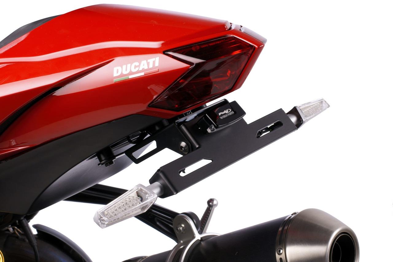 Ducati Streetfighter 848//1100//1100S Racingbike Portatarga Nero