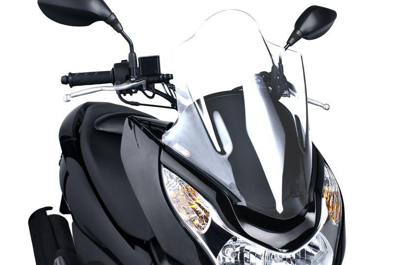 Puig Windscreen Windshield Screen Black Honda Pcx 125 2010 2014