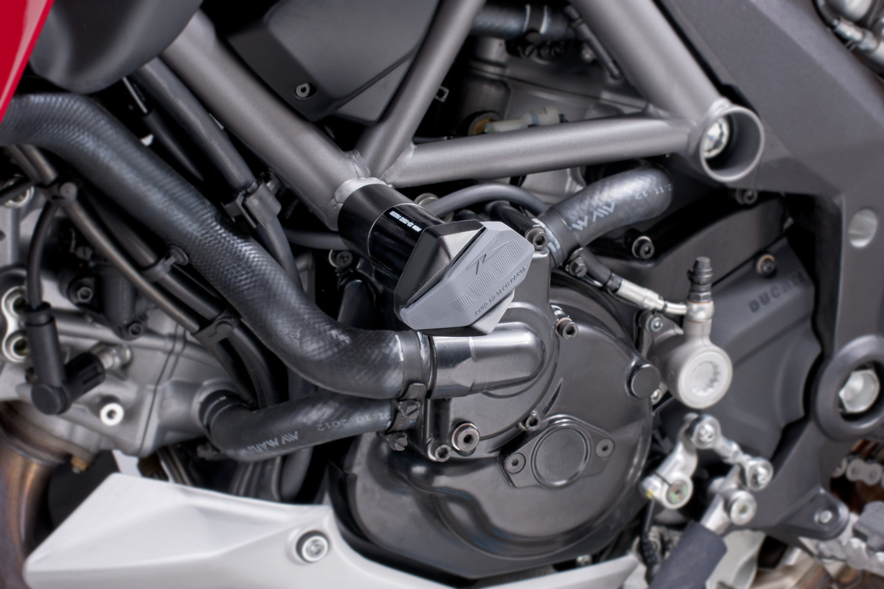 PUIG Motors protectors arresters stops R12 BLACK DUCATI STREETFIGHTER 1100 (2009