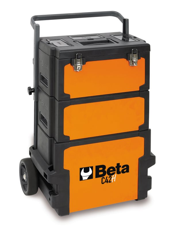 8014230638683 Trolley, tool carrier, 3 MODULES BETA C42 H