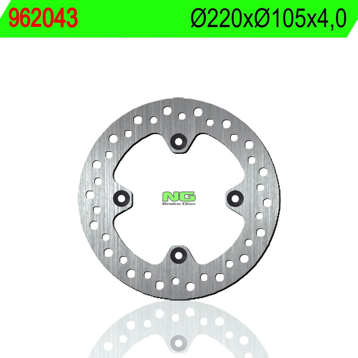 8430525157552 Disc, brake, rear